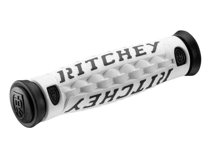 Грипсы RITCHEY MTN PRO TG6, белый/чёрный, длина 133мм