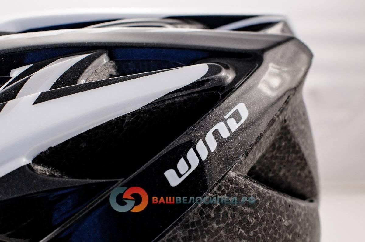 Велошлем AUTHOR Wind 143 Black с сеточкой, 21 отверстие (54-58см) черно-белый 8-9001123, фото 4