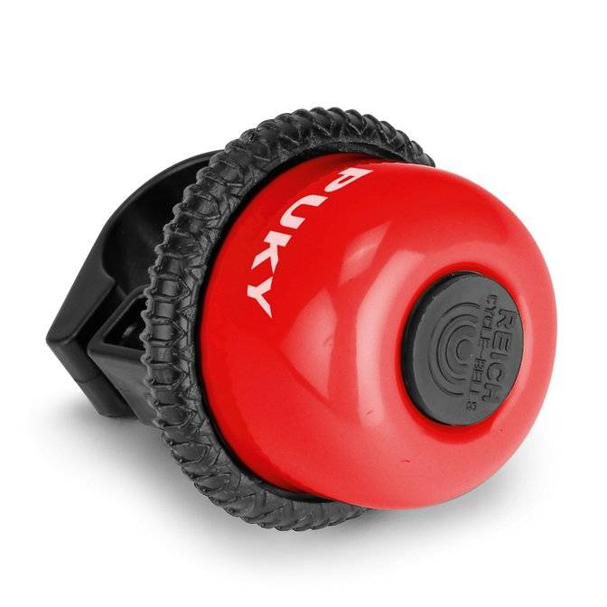 Звонок велосипедный Puky G20, для беговелов и самокатов, red, 9853
