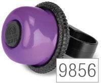 Звонок велосипедный Puky G20, для беговелов и самокатов, lilac, 9856
