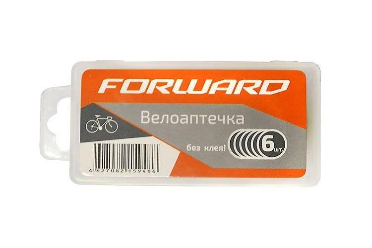 Аптечка велосипедная Forward, заплатки самоклеющиеся, 6 штук, пластиковый бокс, YP3205C-C, RT5PTCH60004