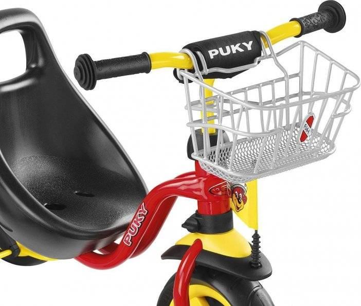 Велокорзина Puky LK DR, передняя, silver, 9119