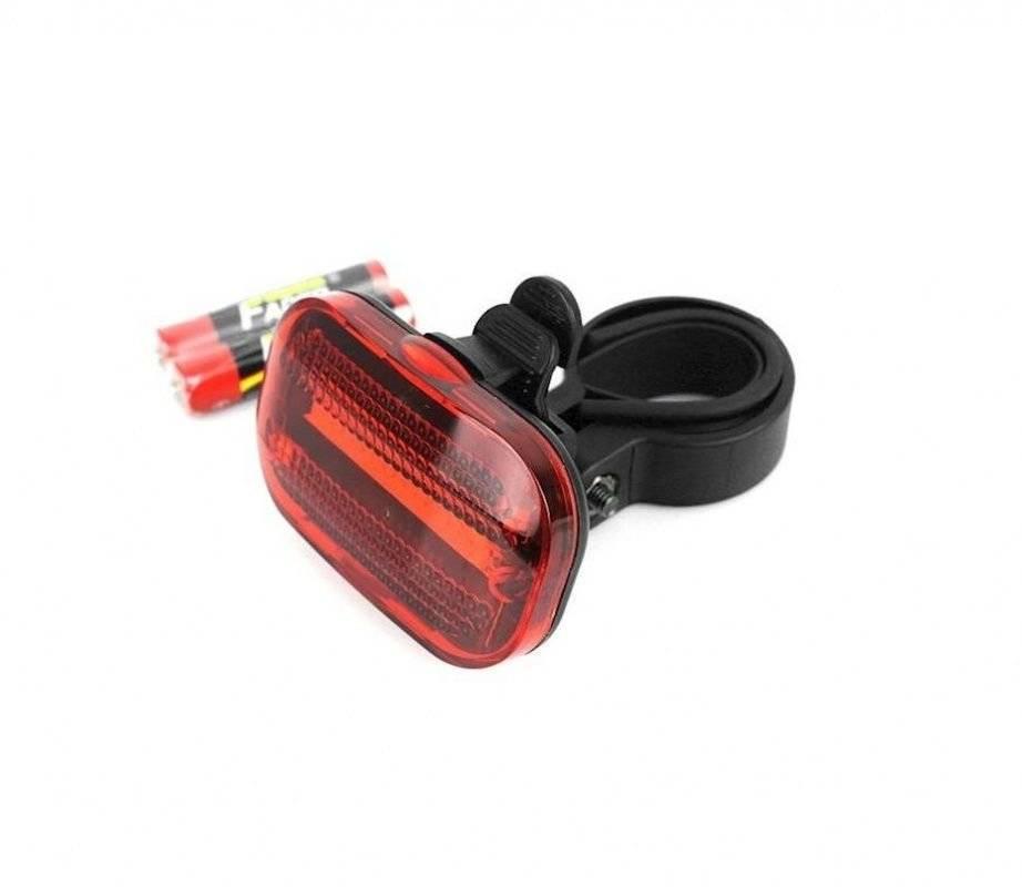 Фото - Фонарь велосипедный JY-3209BT, задний, 5 диодов, LED, 3 режима работы, влагозащита, RNVJY3209BT01 фонарь велосипедный trix задний 5 диодов 3 режима на подседельный штырь батареи ааа jy 603 t