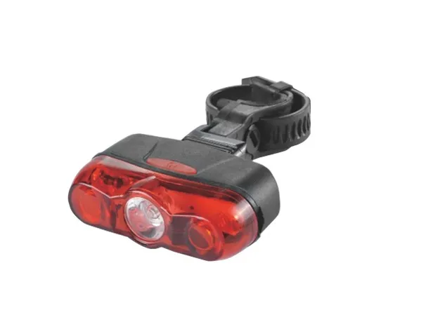 Фото - Фонарь велосипедный JING YI JY-595, задний, 3 LED (2*0,5 watt), 2 режима работы, черный/красный, RNVJY5950001 фонарь велосипедный trix задний 5 диодов 3 режима на подседельный штырь батареи ааа jy 603 t