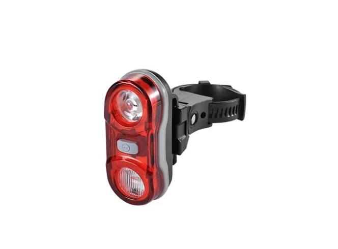 Фото - Фонарь велосипедный JING YI JY-596, задний, 2 LED (2*0,5 watt), 4 режима работы, черный/красный, RNVJY5960001 фонарь велосипедный trix задний 5 диодов 3 режима на подседельный штырь батареи ааа jy 603 t