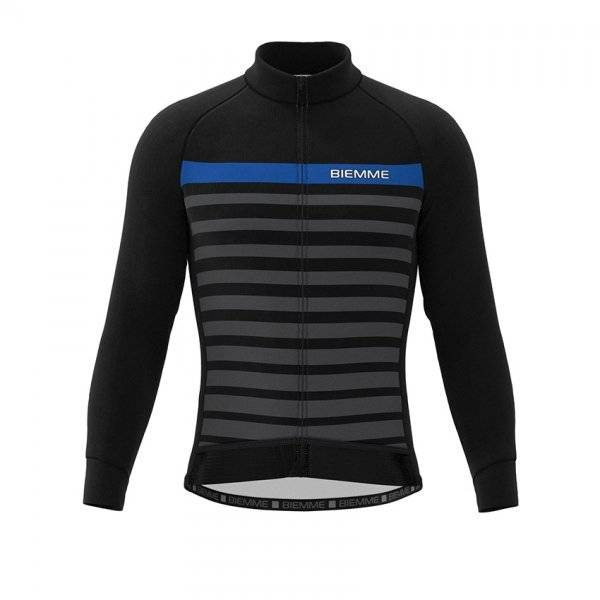 Куртка велосипедная Biemme GAVIA, черно-синий 2020