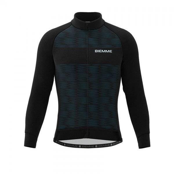 Куртка велосипедная Biemme CRITERIUM AC13, черно-синий 2020