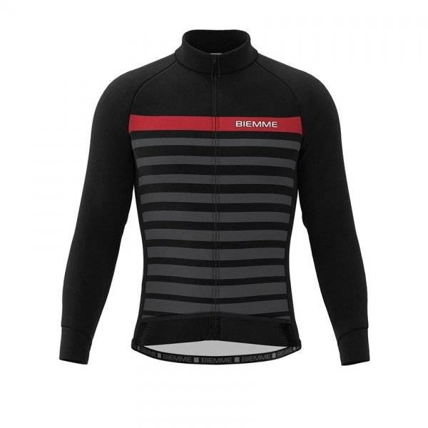 Куртка велосипедная Biemme GAVIA, черно-красный 2020