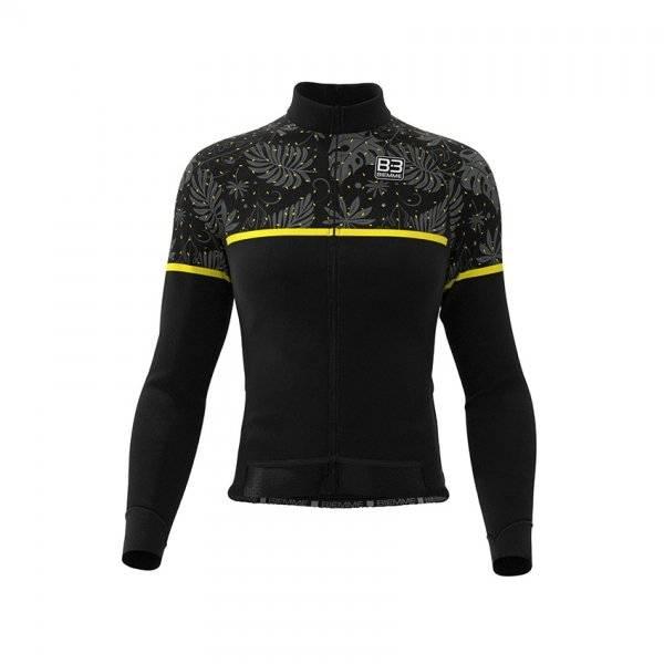 Куртка велосипедная женская Biemme DARK TEIDE AC28, черно-желтый 2020