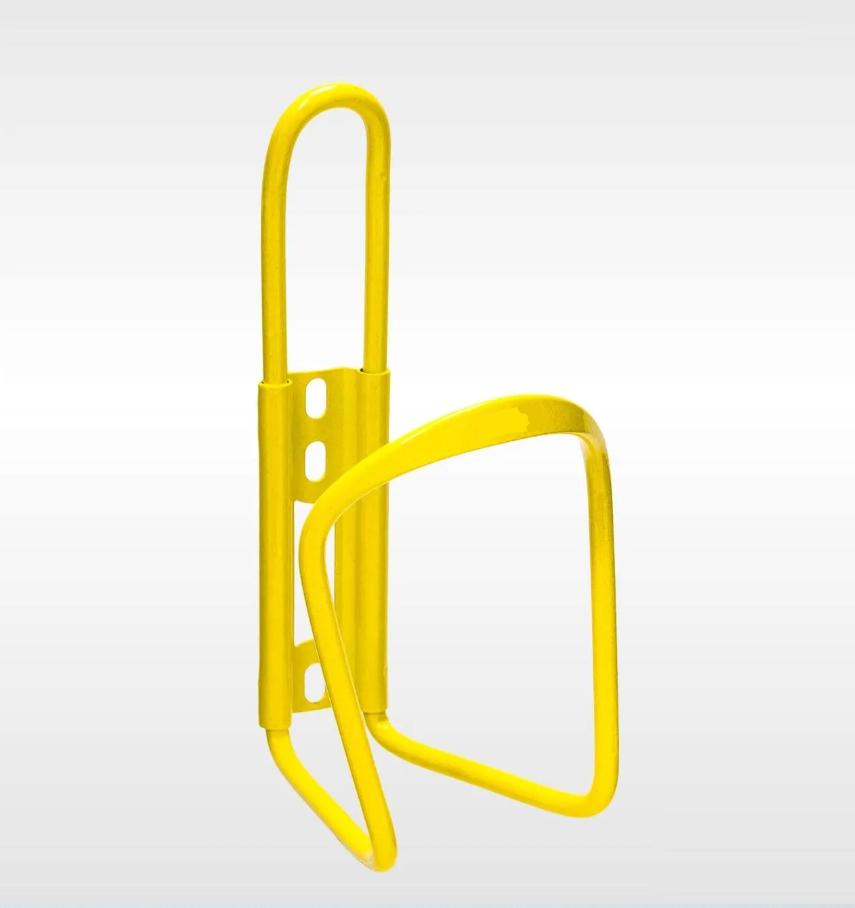 Флягодержатель универсальный Forward, алюминиевый, со съемным креплением на руль, желтый, FWD3234087-17-5