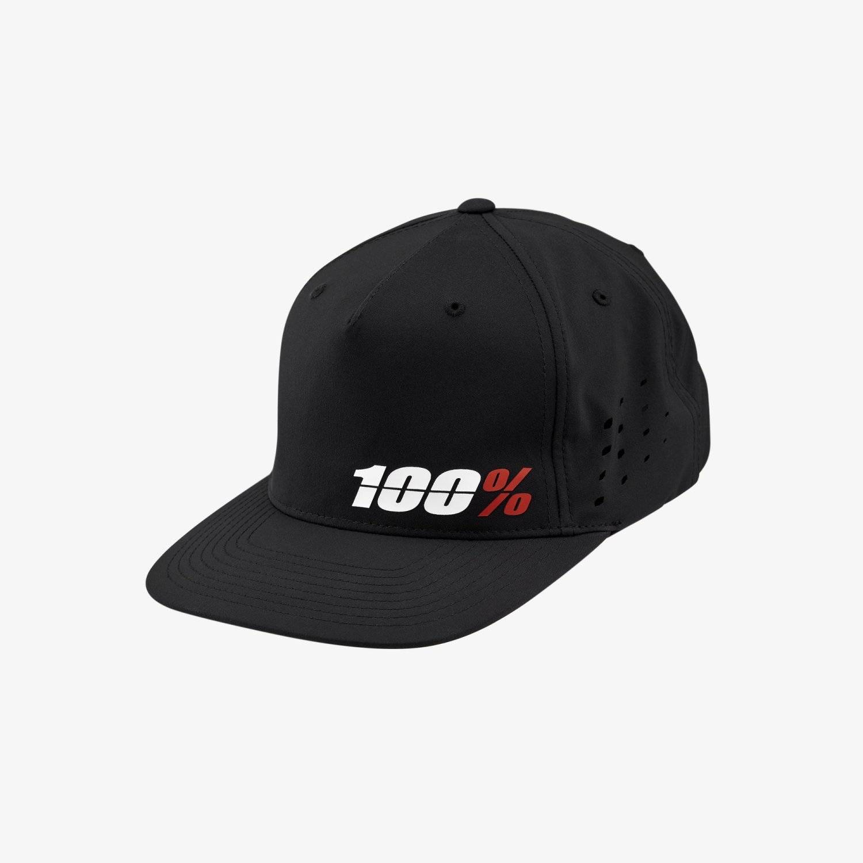 Бейсболка велосипедная 100% Ozone Snapback Hat, Black, 20077-001-01