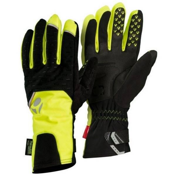 Перчатки велосипедные Bontrager RXL Softshell, Visibility Yellow