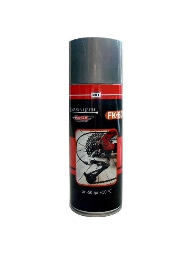 Смазка Idevar FK-80, для цепи, аэрозоль, 200 мл, IDEVAR00485