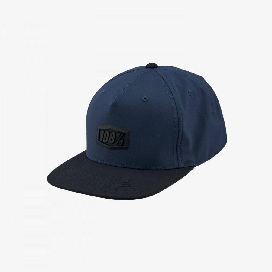 Бейсболка велосипедная 100% Enterprise Snapback Hat, Blue, 20064-002-01