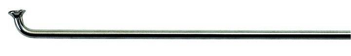 """Спицы велосипедные CNSPOKE 28"""" серебристые нержавеющая сталь 2,0*296мм с ниппелем 5-283523, фото 1"""