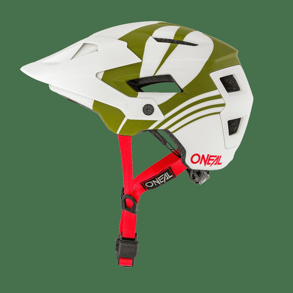 Шлем велосипедный O'Neal DEFENDER Helmet NOVA, gray/olive недорого