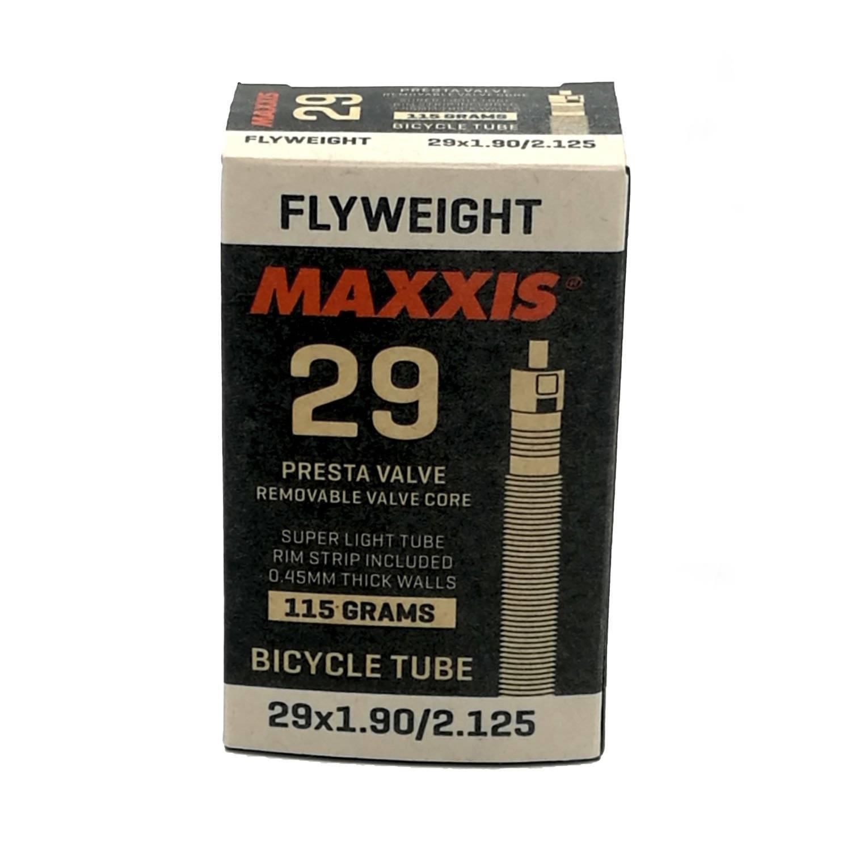 Камера велосипедная + ободная лента MAXXIS FLYWEIGHT 29X1.9/2.125, 0.45, FVSEP (O-CA), EIB96845000