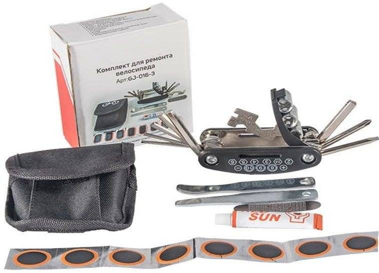 Набор инструментов KENLI, монтажки, шестигранники, аптечка, монтажки, в сумке, GJ-016-3