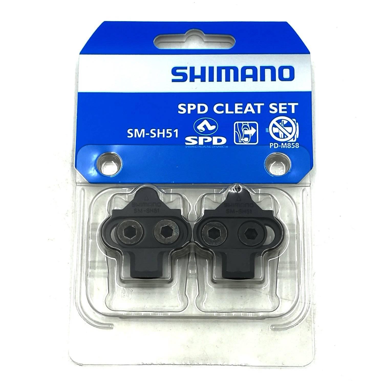 Шипы для велопедалей Shimano SM-SH51, без гайки, пара, Y42498201