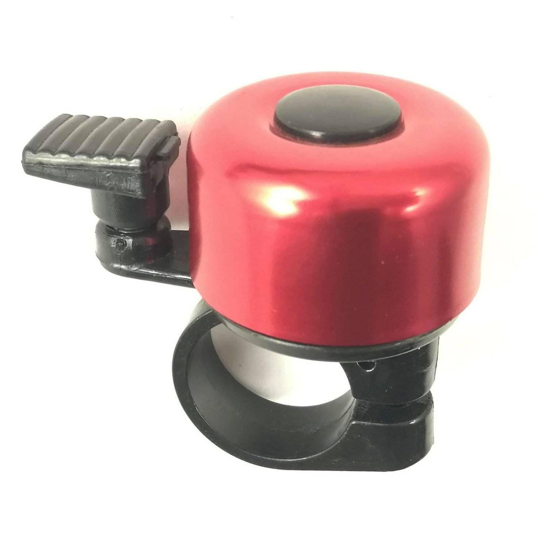 Звонок велосипедный, алюминий, D35, красный, 4630031482764