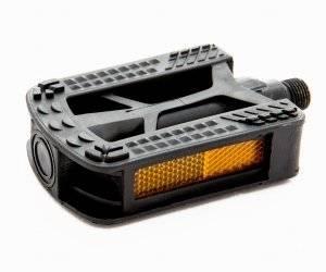 Педали пластиковые черные 84*78мм MX-P620