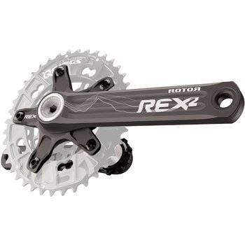 Шатуны Rotor Rex 2.2 XC2 BCD110/60 Black 175mm (C02-069-21010-002), фото 2