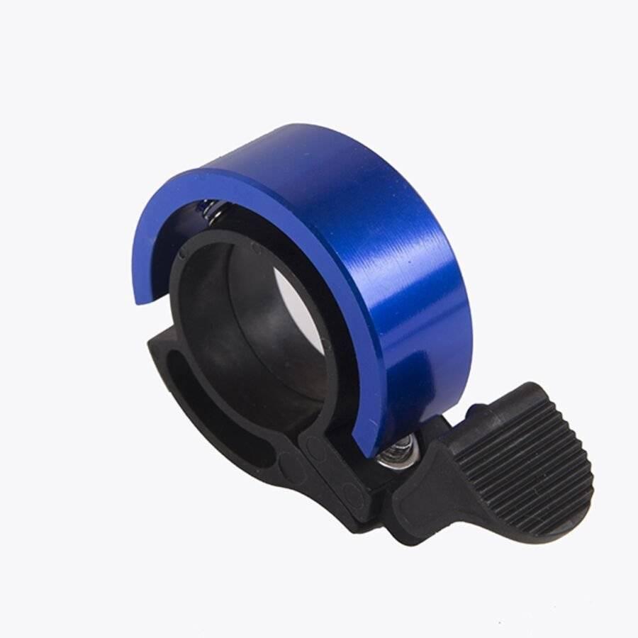 Звонок велосипедный Forward, TORRENT, алюминиевый, D38.5, кольцевой (синий, 4650064235601)