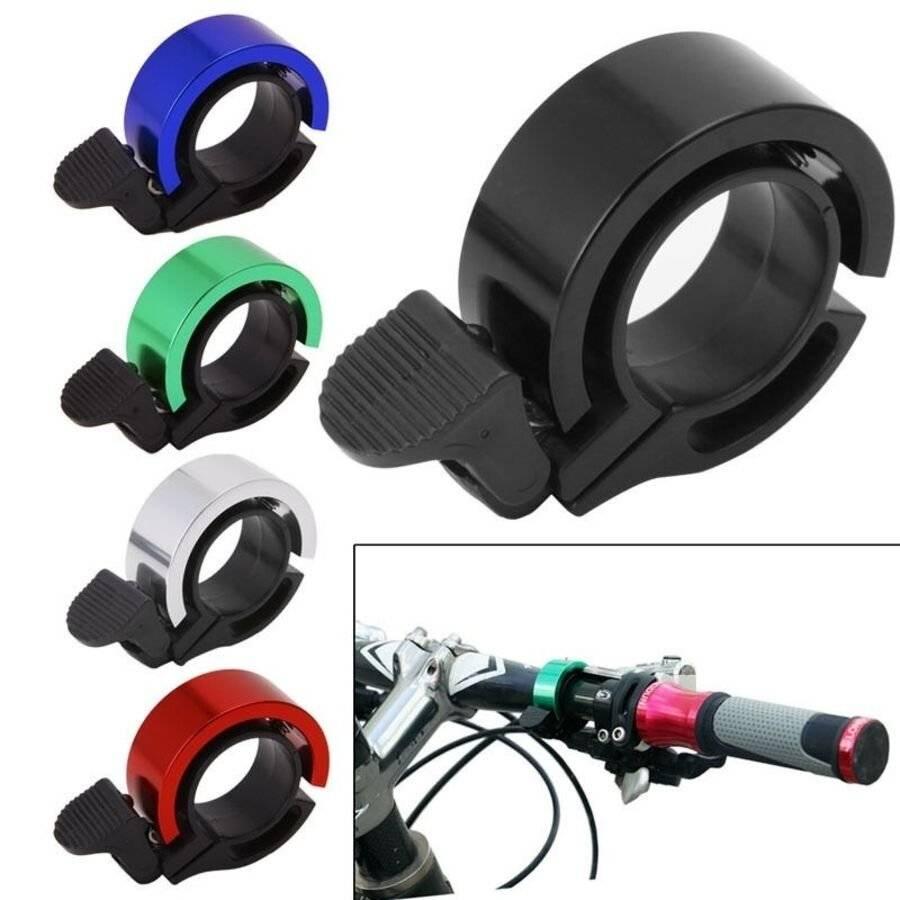 Звонок велосипедный Forward, TORRENT, алюминиевый, D38.5, кольцевой (красный, 4650064235588)