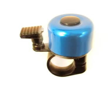 Звонок велосипедный Forward, алюминиевый, D35 (синий, 4650066009163)