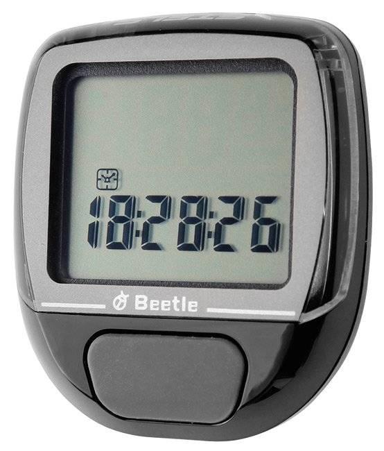Велокомпьютер ECHOWELL BEETLE-1, 5 функций, проводной, черный, ST (060021)
