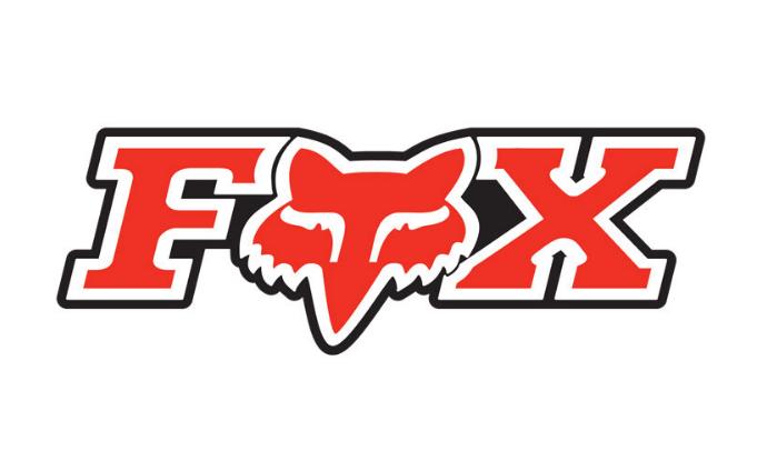 Наклейка на велосипед Fox Corporate, 3, Red, 14904-003-OS