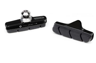 Ободные шоссейные колодки ELVEDES, 55 мм. Материал колодок: алюминий, 6846-CARD