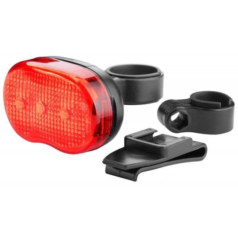 Фото - Фонарь велосипедный STELS JY-153T, задний, 3 светодиода, 3 режима работы, красно-чёрный, 560030 фонарь велосипедный xc 910t задний 3 светодиода 3 режима w0443