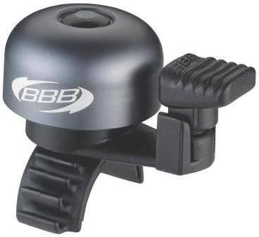 Звонок велосипедный BBB bike bell EasyFit Deluxe displaybox 20pcs, черно-серый, BBB-14D
