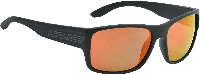 Очки велосипедные Salice, солнцезащитные, 846RWP Black/RWP Red