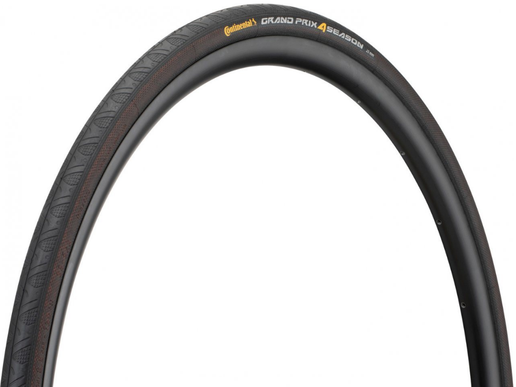 Велопокрышка Continental Grand Prix 4-Season Black Edition, 700 x 28C, складная, 2x Vectran™Breaker, DuraSkin®, 101443