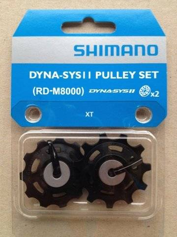 Фото - Ролики Shimano к XT RD-M8000, 11 ск, верхний+нижний, Y5RT98120 блок верхний нижний body craft для f410 f411