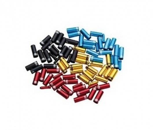 Комплект наконечников для рубашки Sram Ferrule Kit Aluminum, черный, 00.7115.010.010