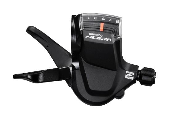Шифтер велосипедный SHIMANO Acera M3000, правый, 9 скоростей, трос 2050 мм, ESLM3000RA