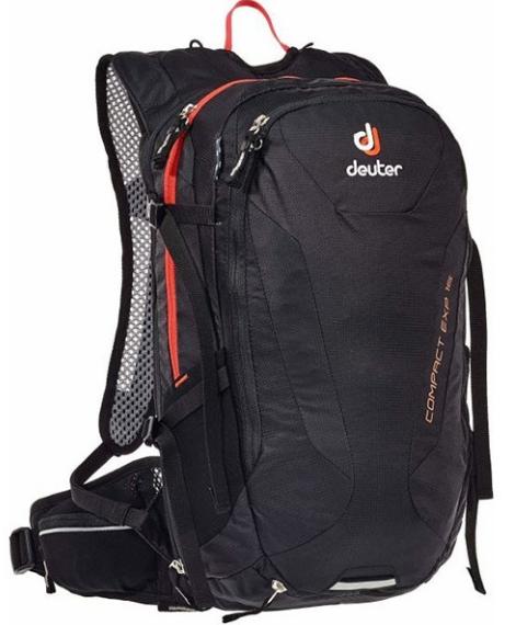 Велорюкзак Deuter Compact EXP, 16 л, black, 3200315_7000