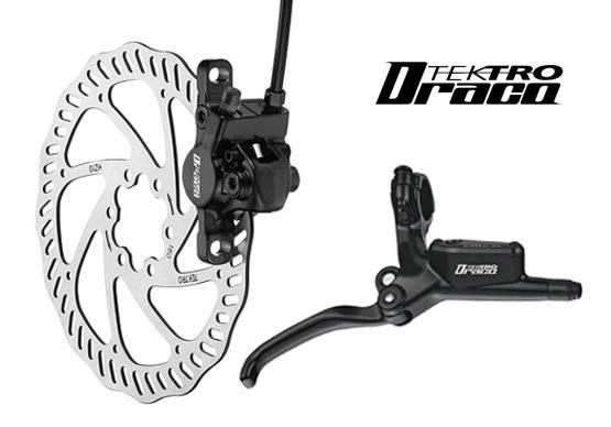 Тормозной набор велосипедный TEKTRO передний диск. гидр. Draco ротор 160мм 6-350