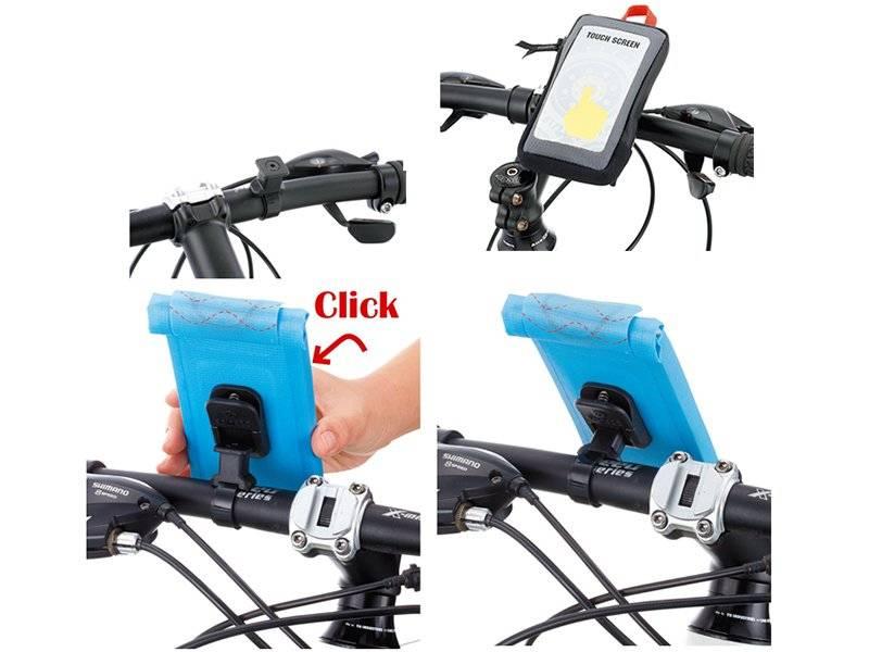 Чехол для смартфона KONNIX TY-12854NU-M, на руль, 8х2х14,5см