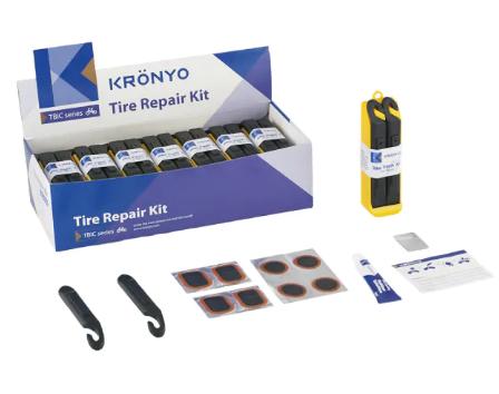Набор KRONYO TBIC-14C, для ремонта шин, в коробках, 7008