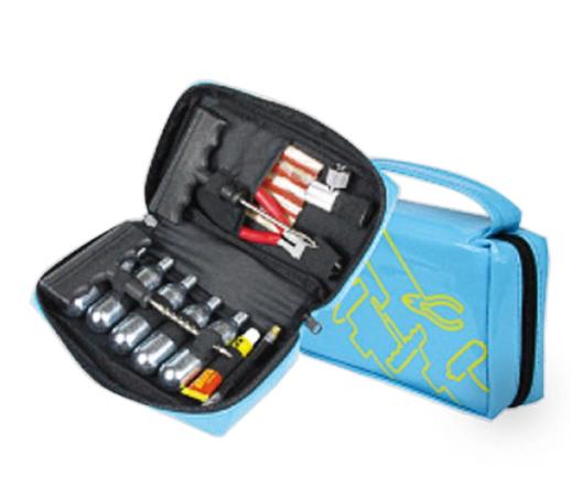 Набор KRONYO TCAR-01B, для ремонта шин, в сумках, 7051