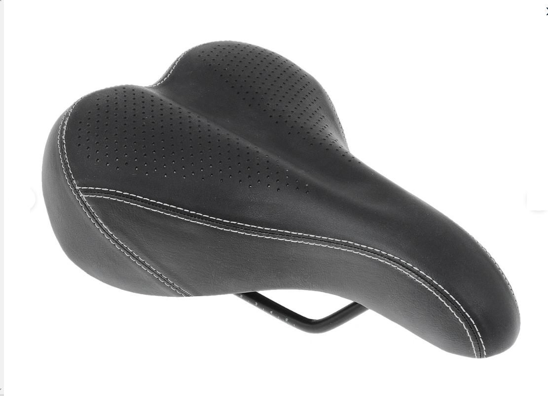 Седло велосипедное XINDA XD-803-13, для горного велосипеда, Black, 23011