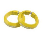 Фиксаторы велосипедные Giant, для грипс, желтый, 190000173