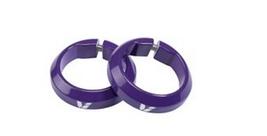 Фиксаторы велосипедные Giant LIV, для грипс, пурпурный, 190000179