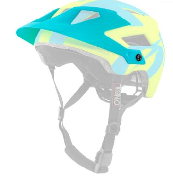 Козырек O´Neal Defender 2.0, Sliver Neon Yellow/Blue, 0502-946 недорого