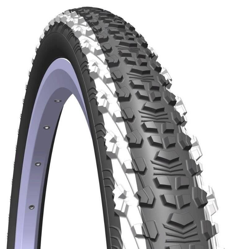 Покрышка велосипедная Mitas SCYLLA V75, 20 x 1.90, Classic, Black/white stripes, 5-10952413-042