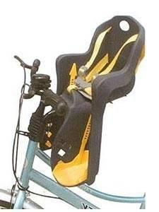 Детское велокресло на раму/вынос TUV темно-синее, до 15кг переднее, 5-259846, фото 2